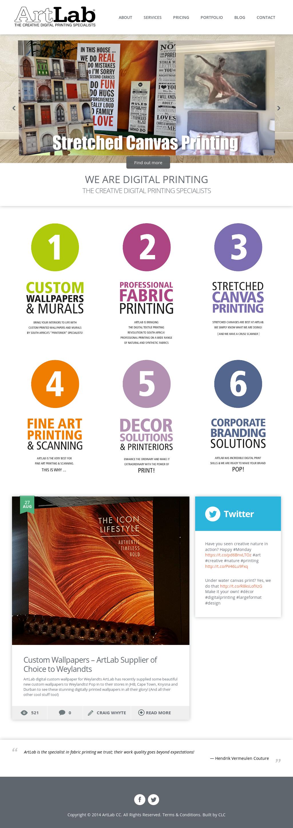 Artlab | Digital Printing & Scanning Competitors, Revenue