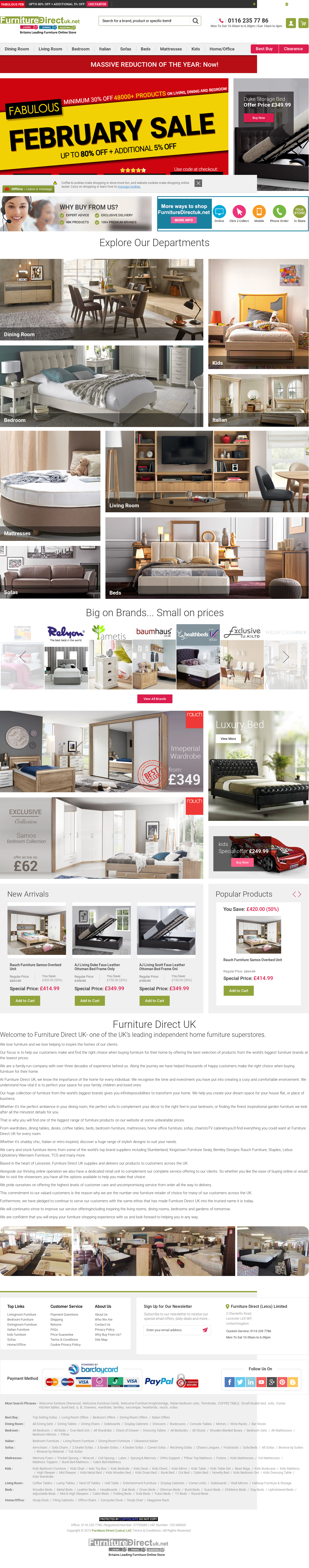Furniture Direct Uk Competitors Revenue And Employees Owler