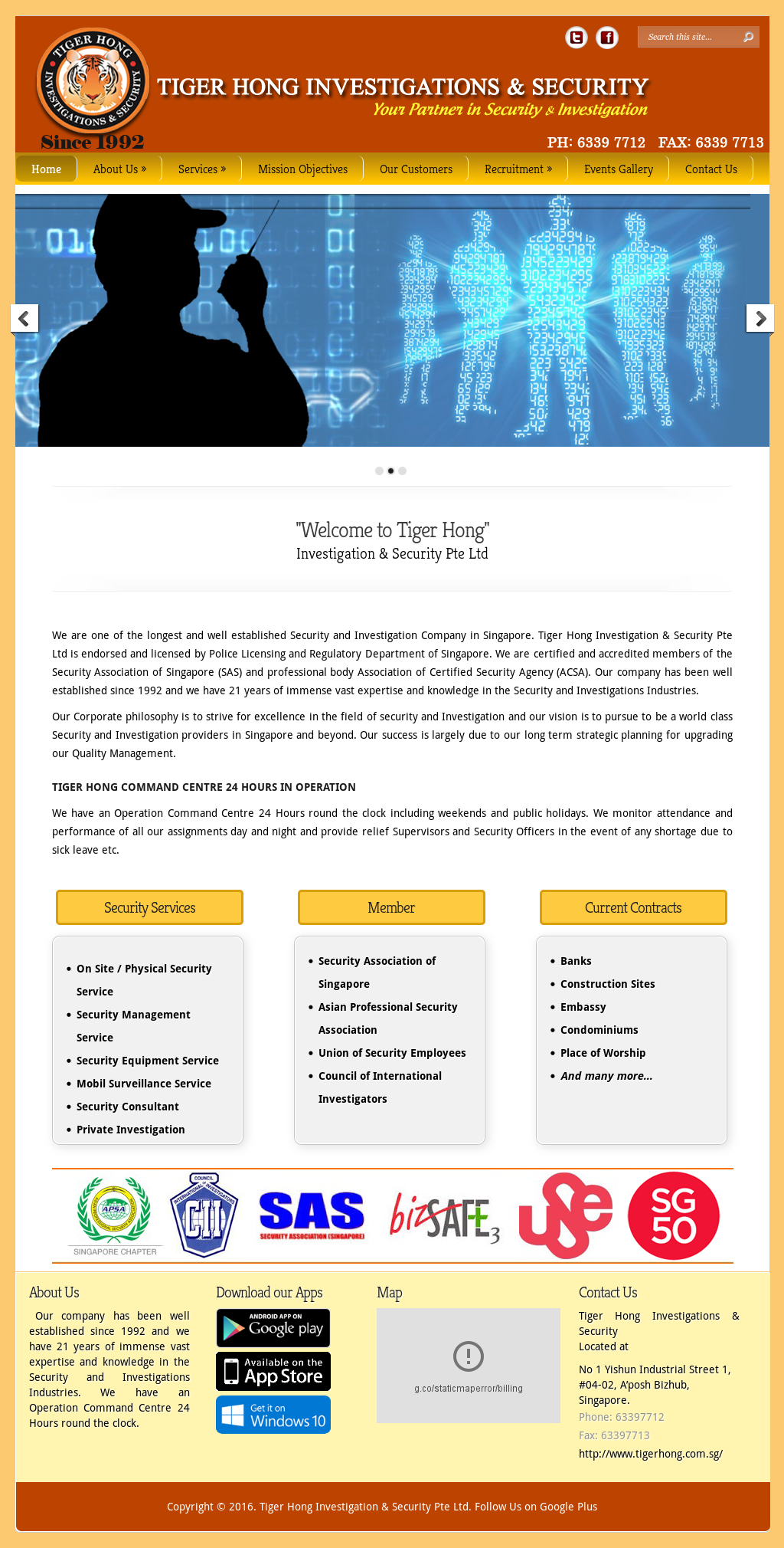 Tiger Hong Investigation & Security Competitors, Revenue and