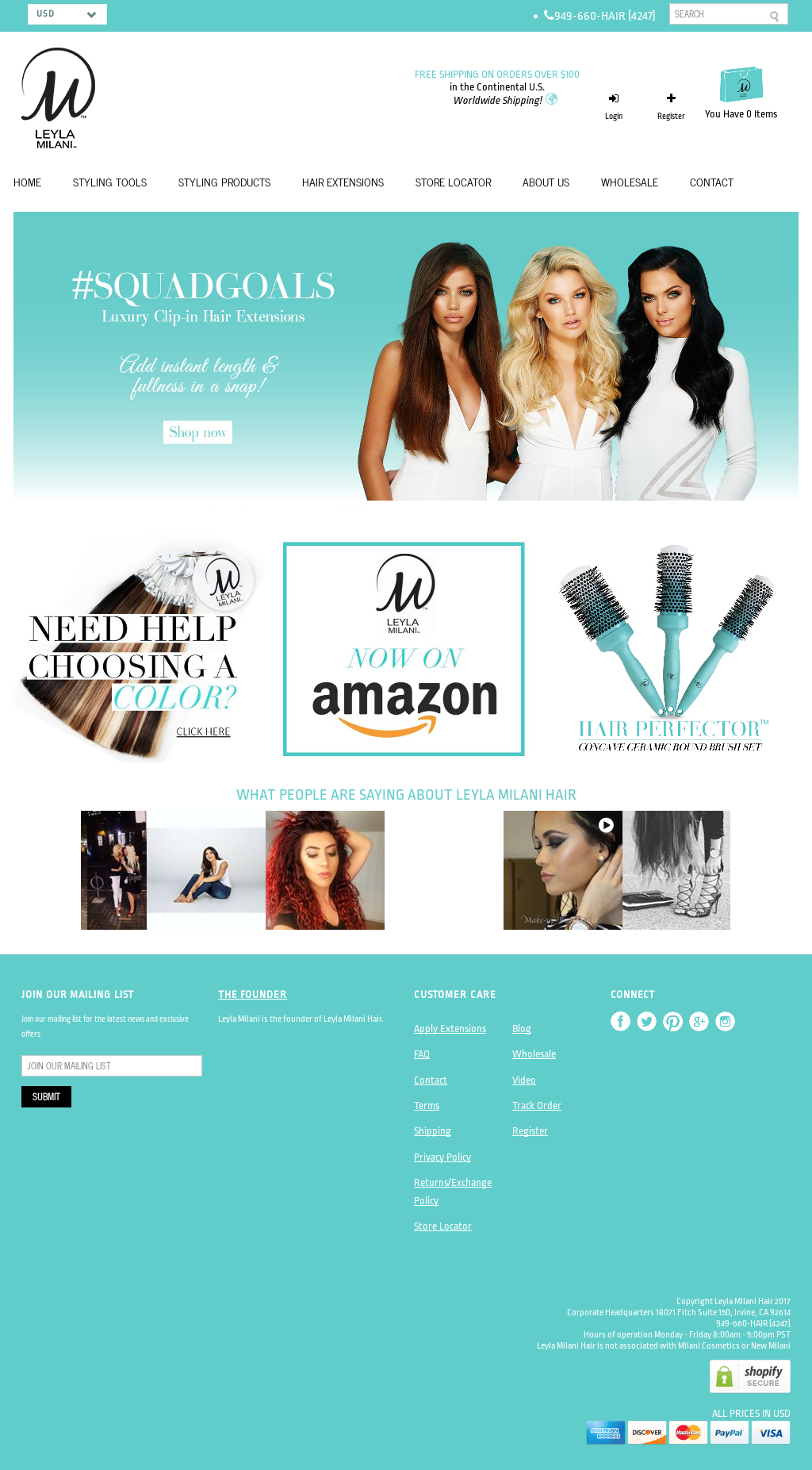Leyla Milani Hair Competitors Revenue And Employees Owler Company