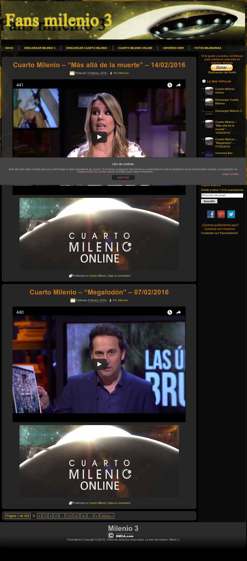 Emejing Documentales Cuarto Milenio Online Contemporary - Casas ...