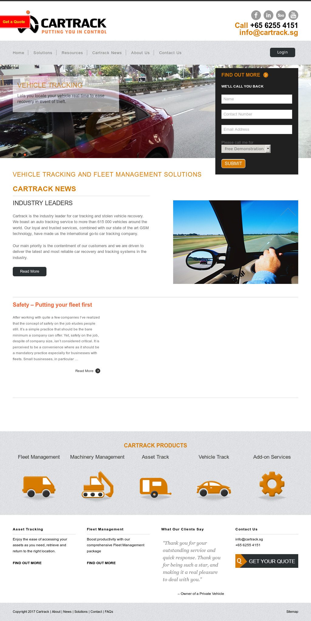 Cartrack Technologies Competitors, Revenue and Employees