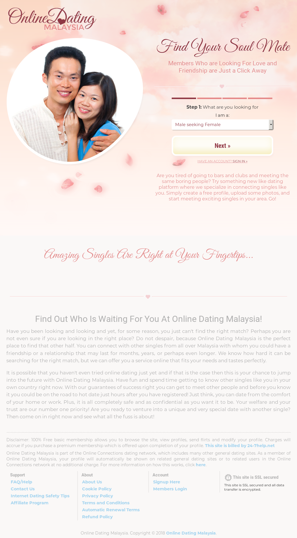 Online-Dating-Website in malaysia