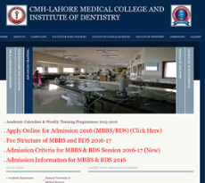 Cmh Lahore Medical College & Institute Of Dentistry
