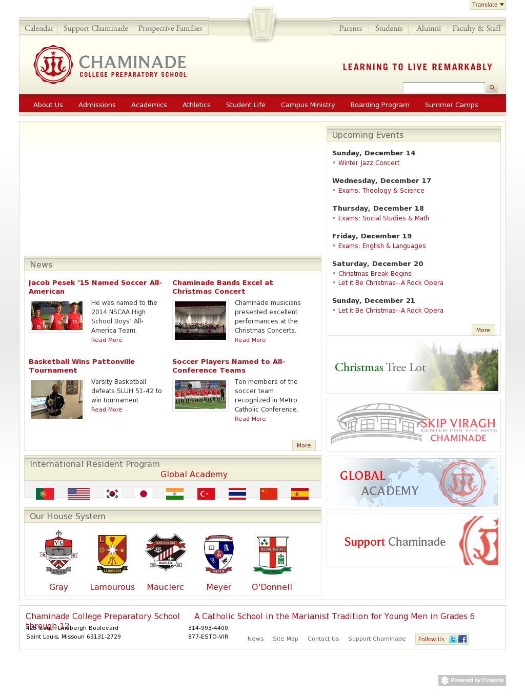 Sluh Calendar.Chaminade College Preparatory School Competitors Revenue And