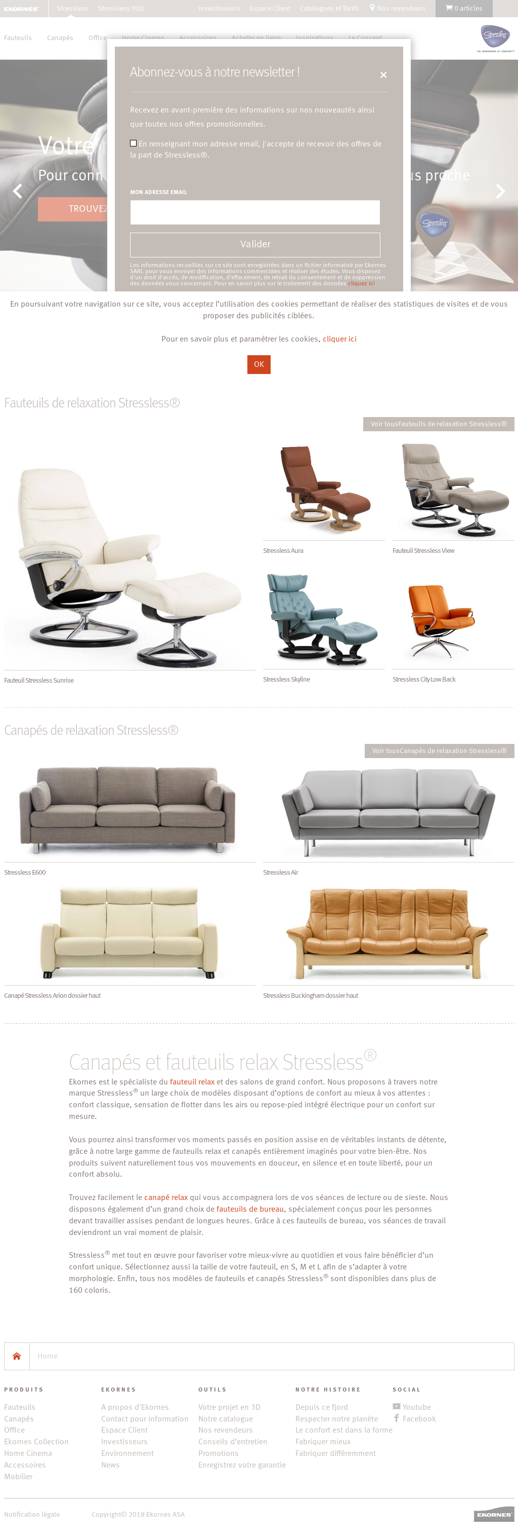 Ekornes Stressless Competitors Revenue And Employees