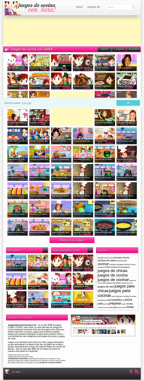 Juegos De S Para Cocinar | Juegos De Cocina Con Sara Competitors Revenue And Employees Owler