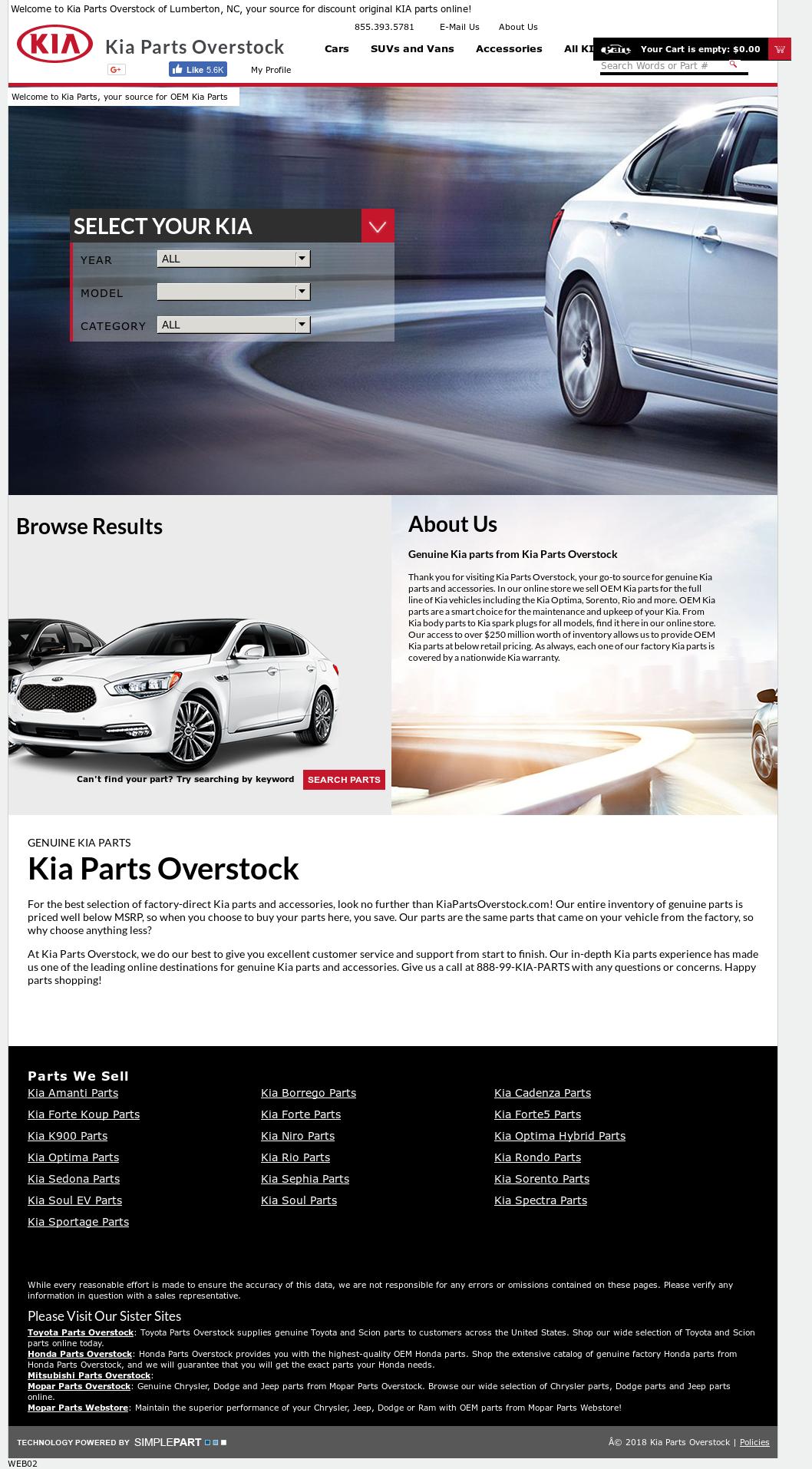 Kiapartsoverstock Competitors Revenue And Employees Owler Company