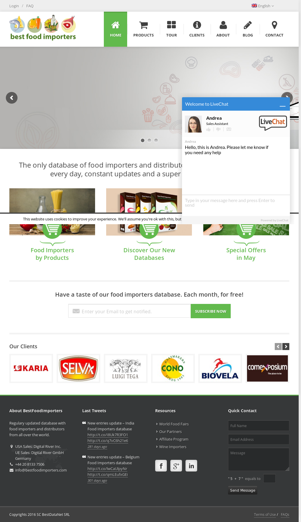 Owler Reports - Bestfoodimporters Blog Germany Food Importers