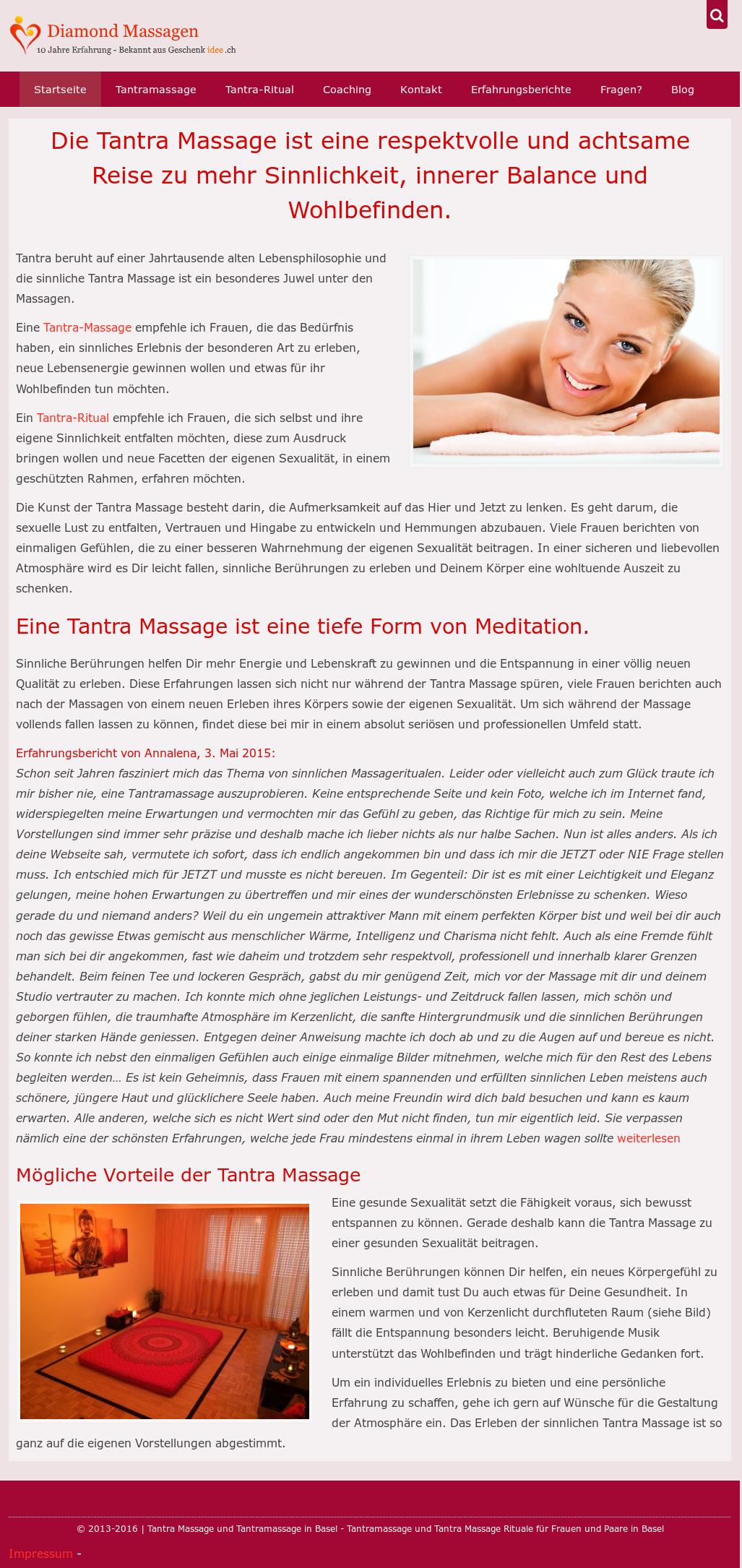 erfahrungen mit tantra massage