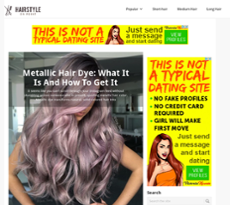 Hairstyleonpoint website history