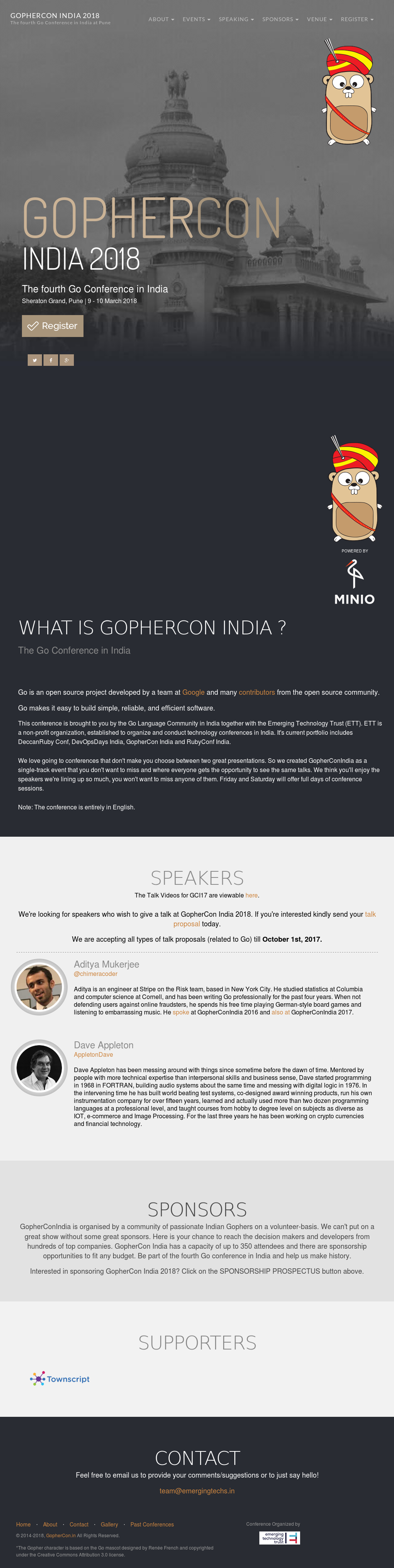 Gopherconindia Competitors, Revenue and Employees - Owler