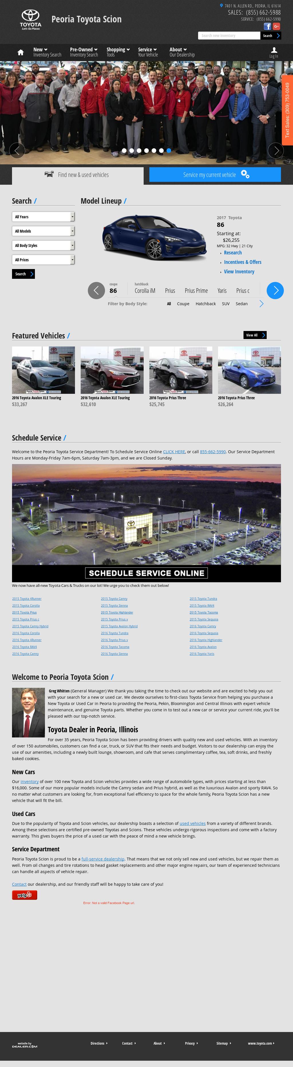 Peoria Toyota petitors Revenue and Employees Owler pany Profile