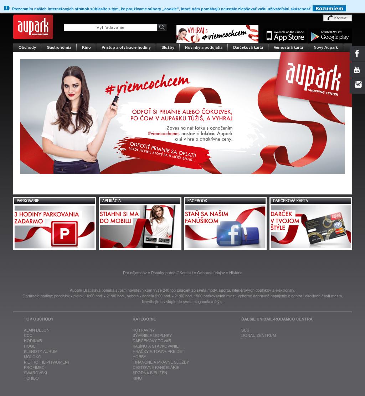 Aupark Shopping Center Competitors 44a7867ec70