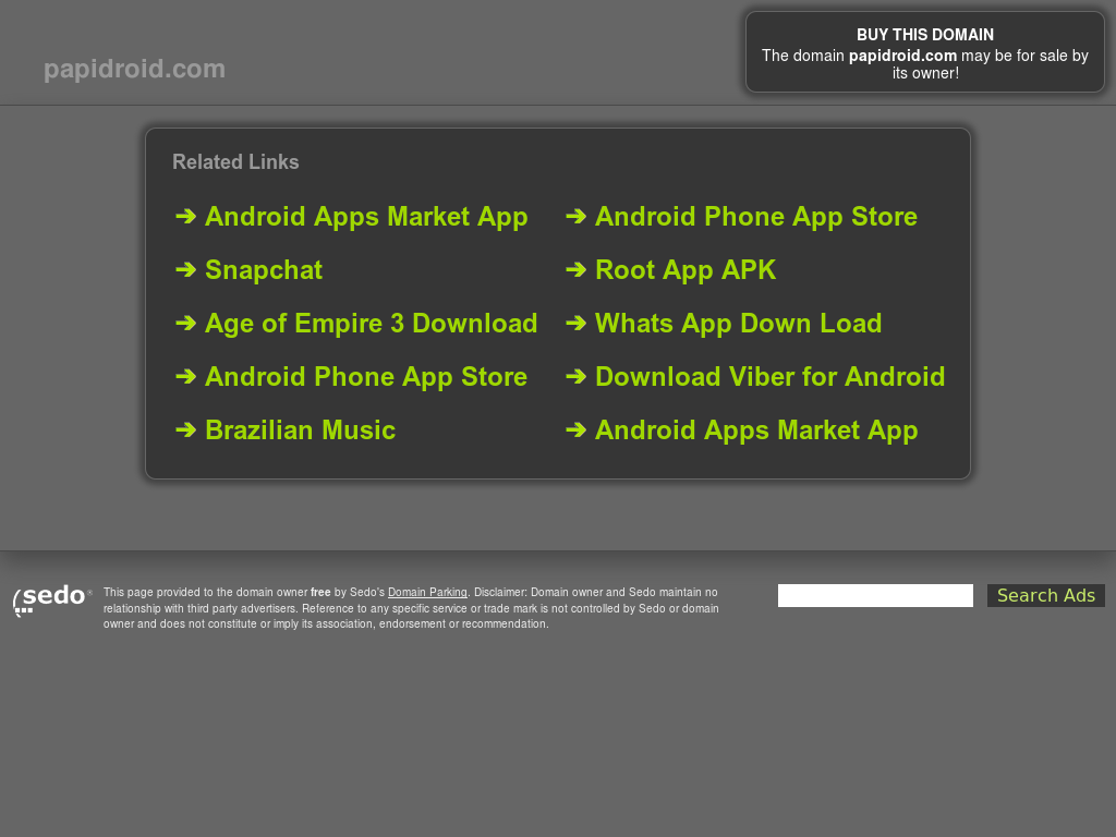 Papidroid - Download Android Apps Without Google Play