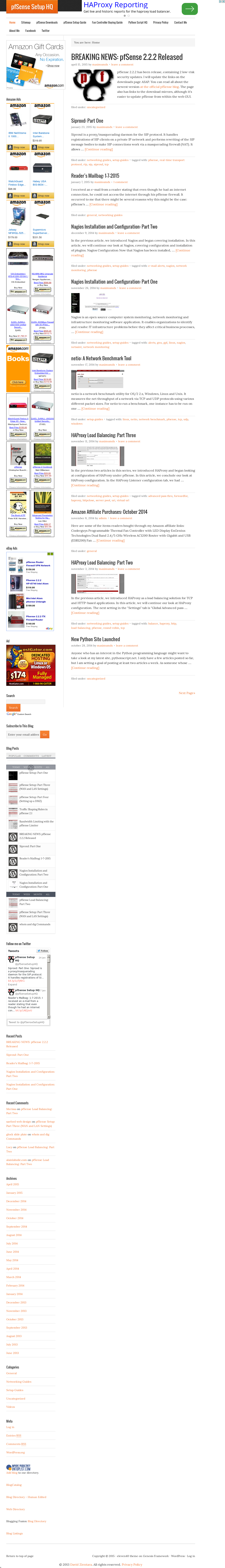 Pfsense Setup Hq Competitors, Revenue and Employees - Owler