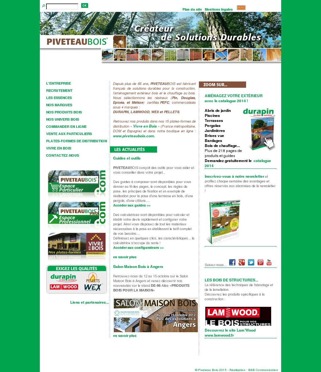 Piveteau Bois Competitors Revenue And Employees Owler
