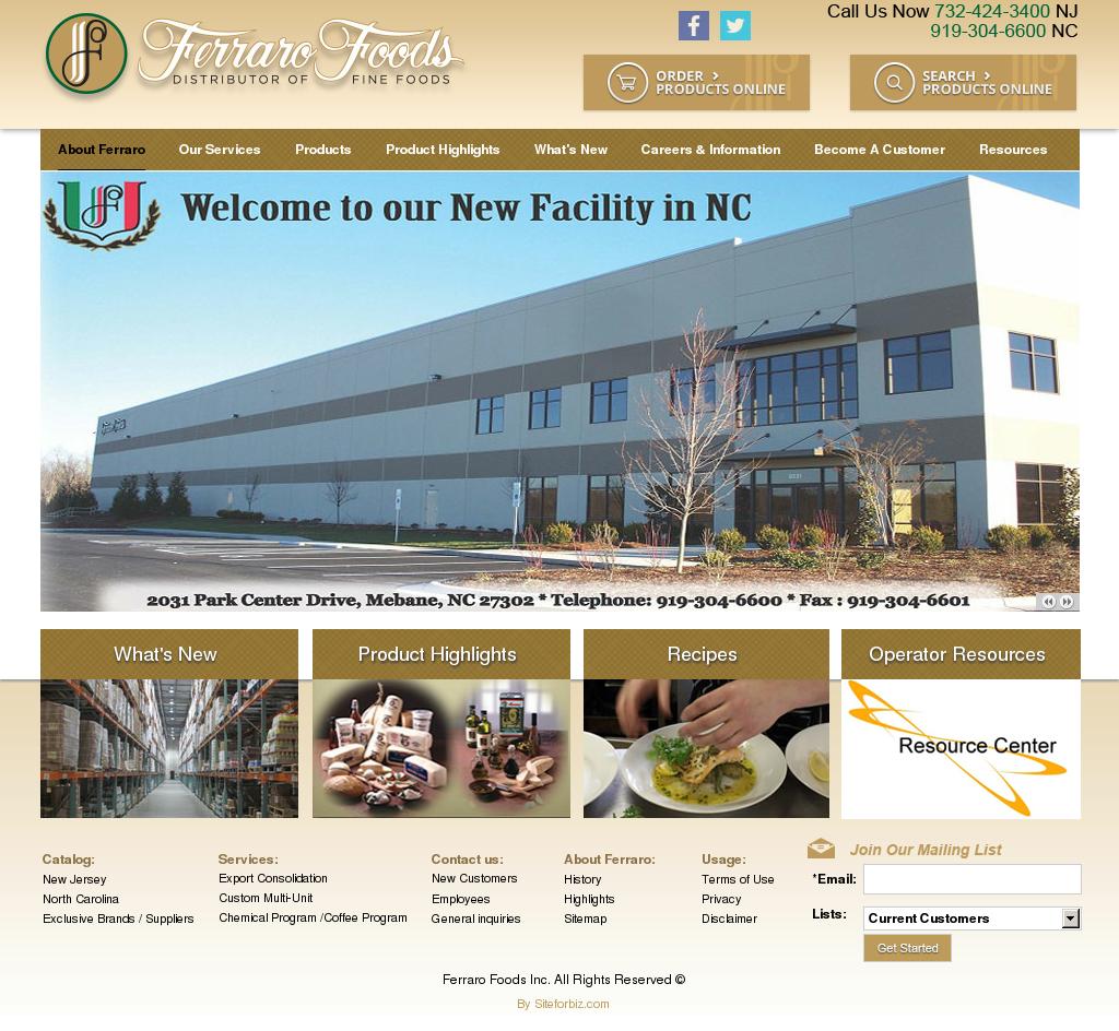 Ferraro Foods Competitors, Revenue and Employees - Owler