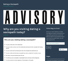 what to do when dating a sociopath