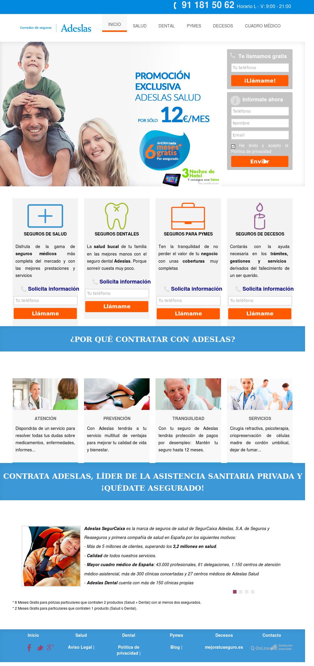 Adeslas Competitors Revenue And Employees Owler Company Profile
