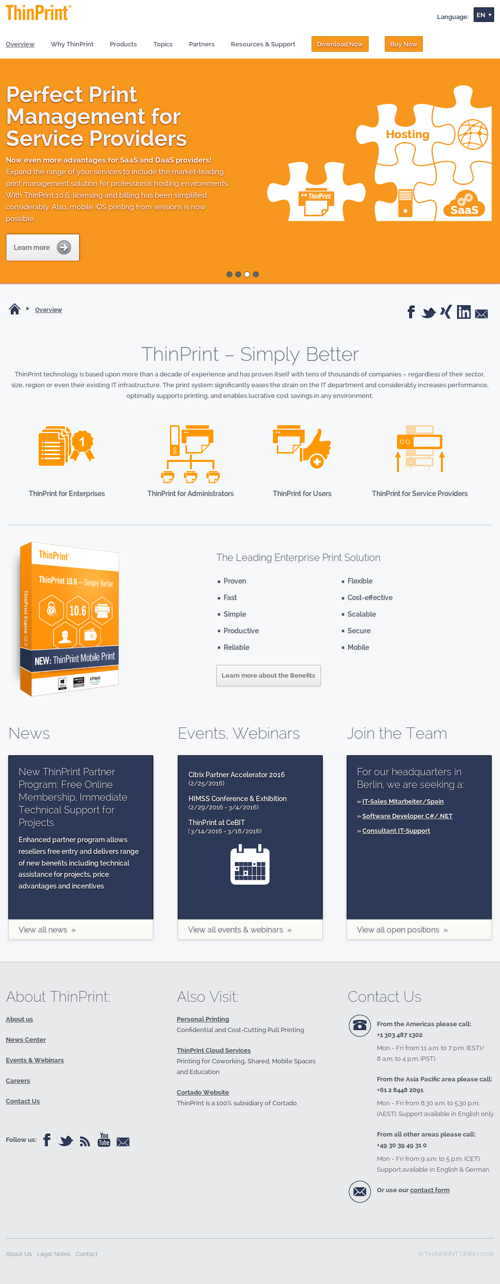 ThinPrint Competitors, Revenue and Employees - Owler Company Profile