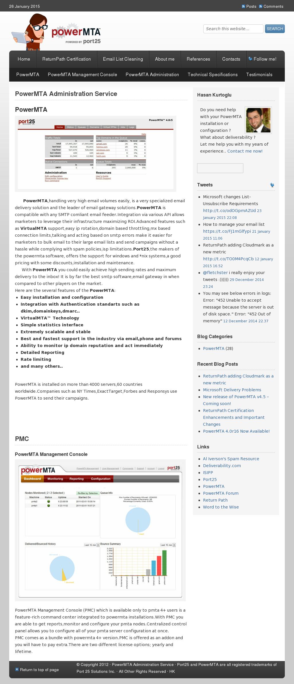 Powermta Administration Service Competitors, Revenue and
