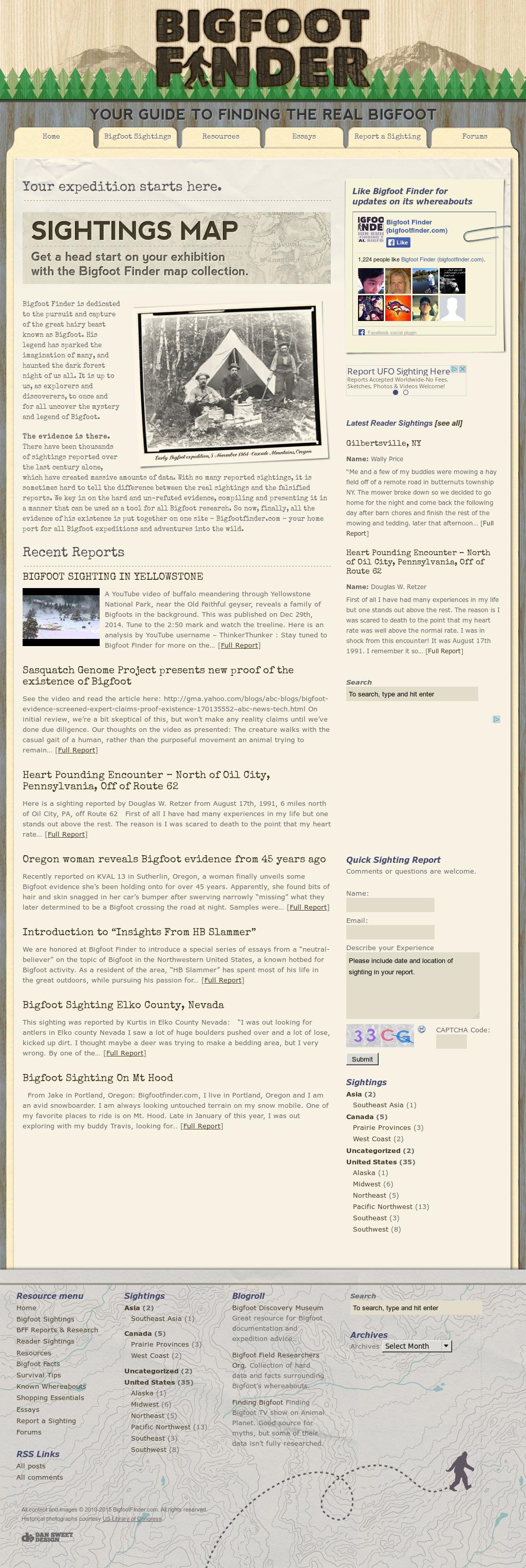 Bigfoot Finder (Bigfootfinder com) Competitors, Revenue and