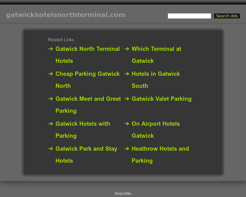 Gatwick Hotels North Terminal Gatwick Hotels And Parking