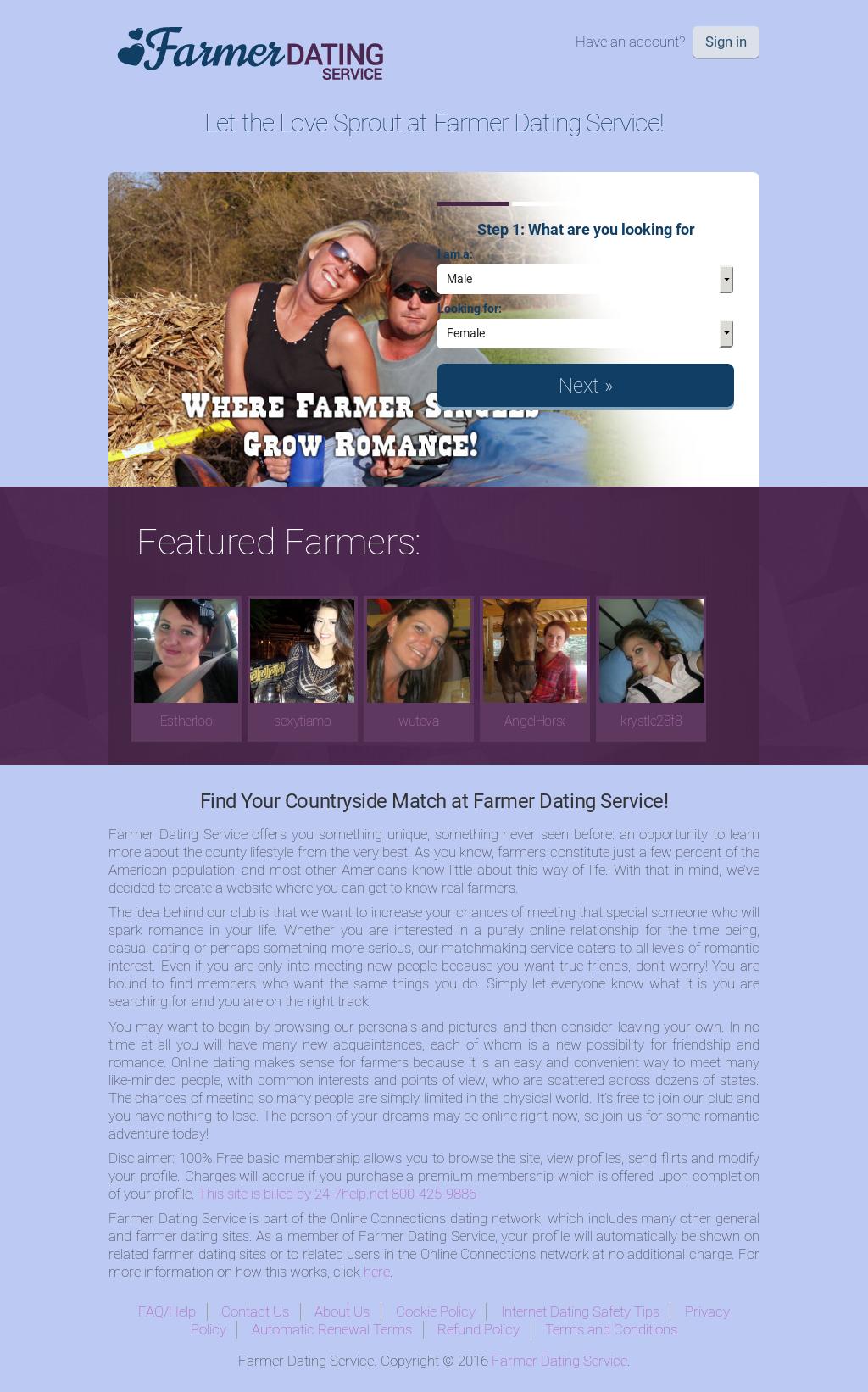 farmers.com online dating modderige poten dating