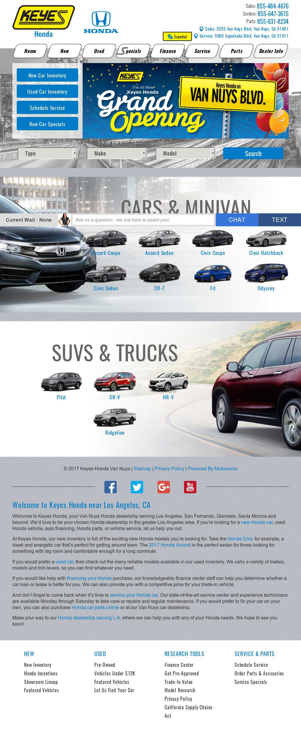 Miller Honda Van Nuys Compeors, Revenue and Employees - Owler ...