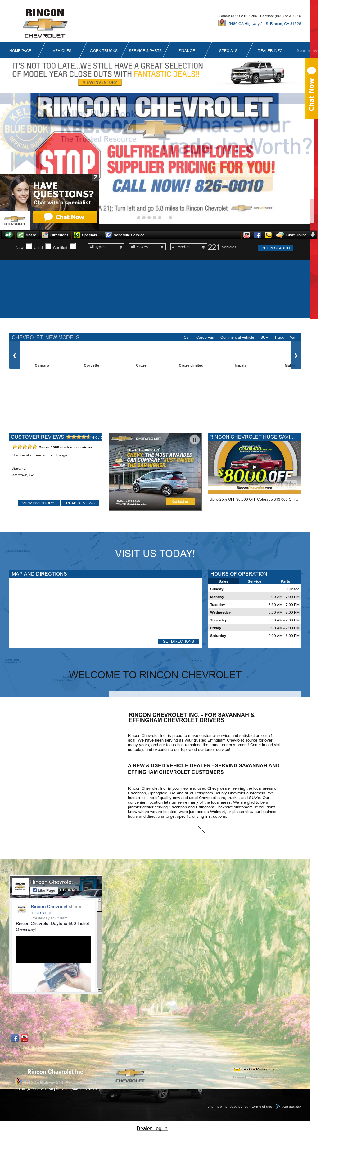 Rinconchevrolet Competitors, Revenue And Employees   Owler Company Profile