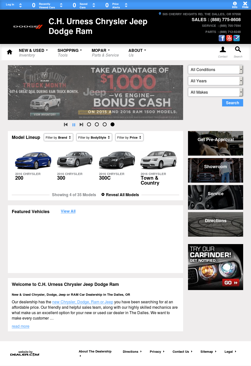 Griffith Toyota The Dalles >> Urness Motors - impremedia.net