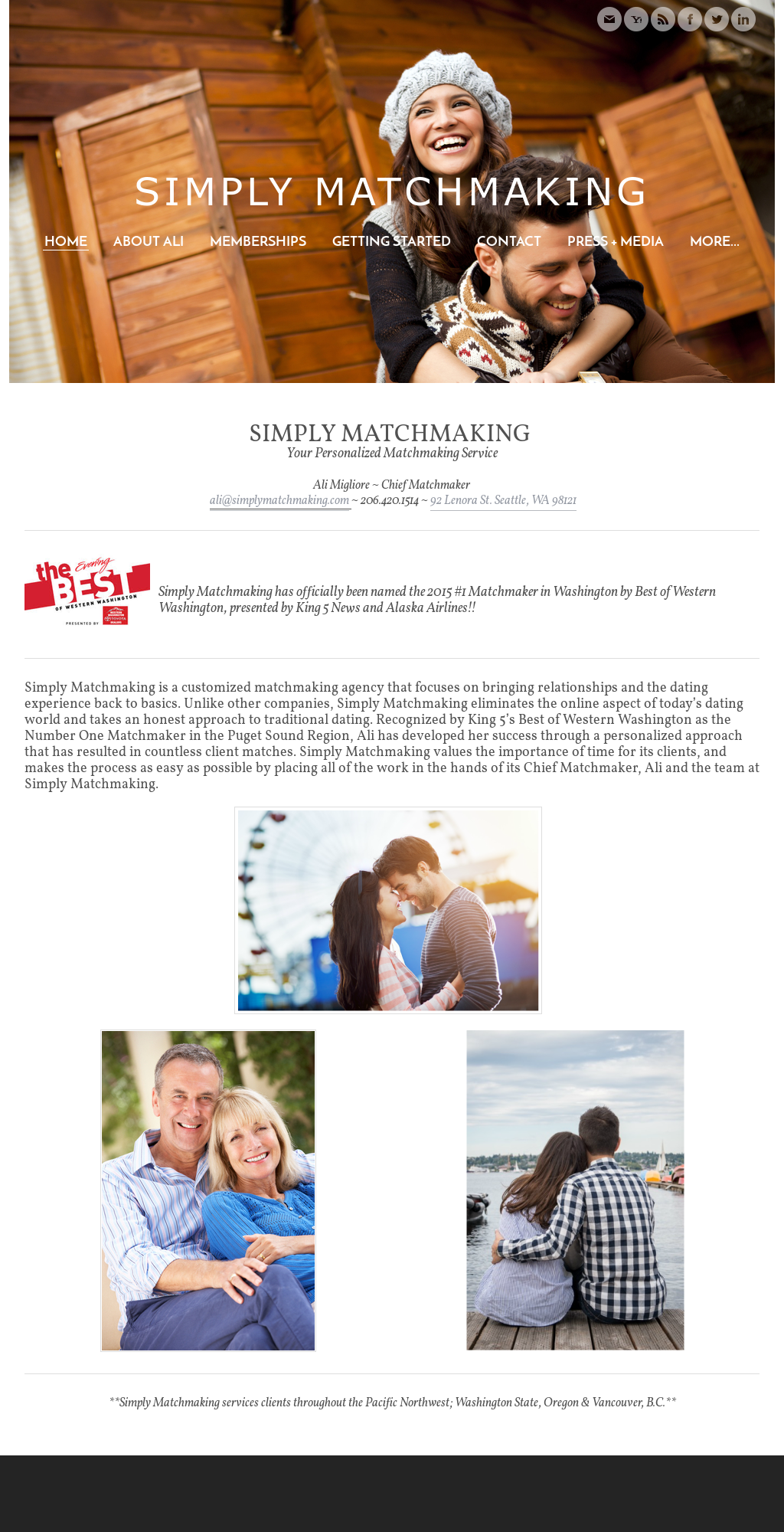 Die Firma Seattle matchmaking Company