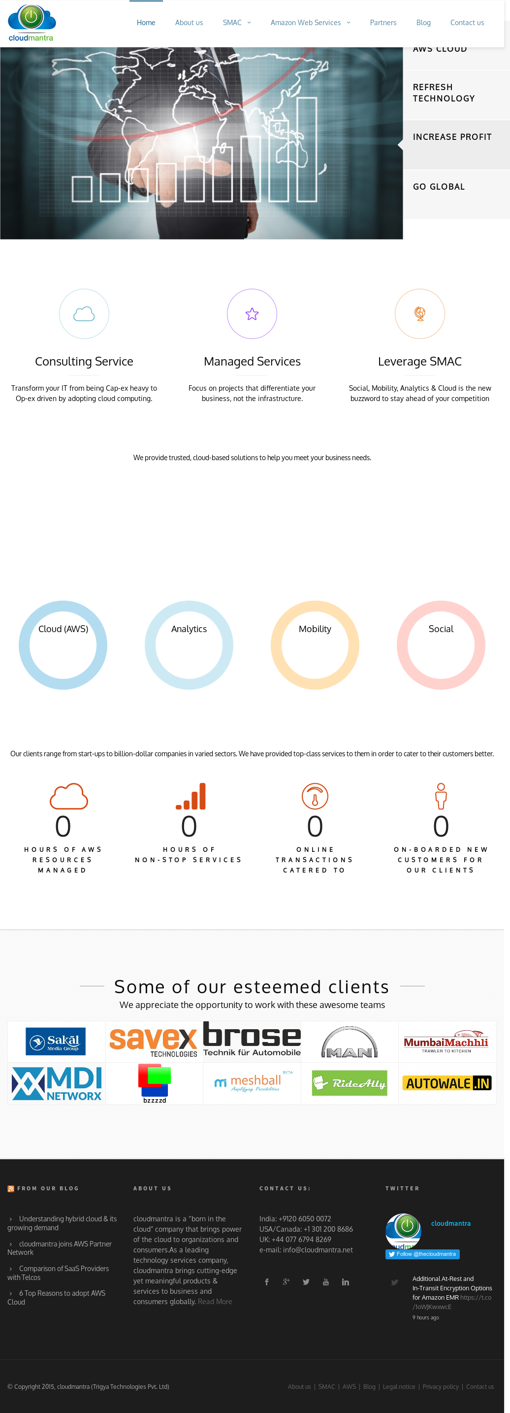 Cloudmantra Competitors, Revenue and Employees - Owler Company Profile