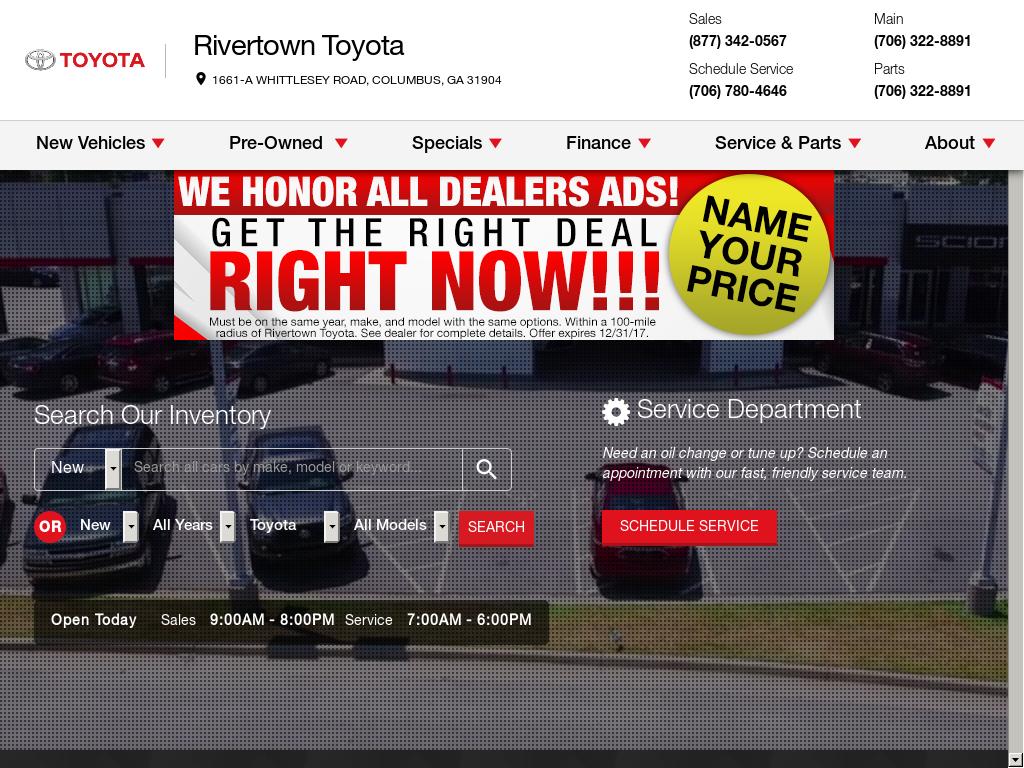 Great Jay Toyota Website History