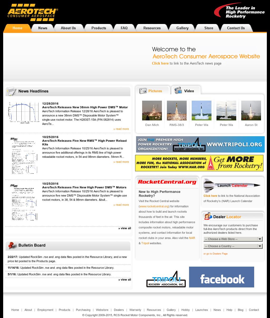 Rcs Rocket Motor Components Competitors, Revenue and