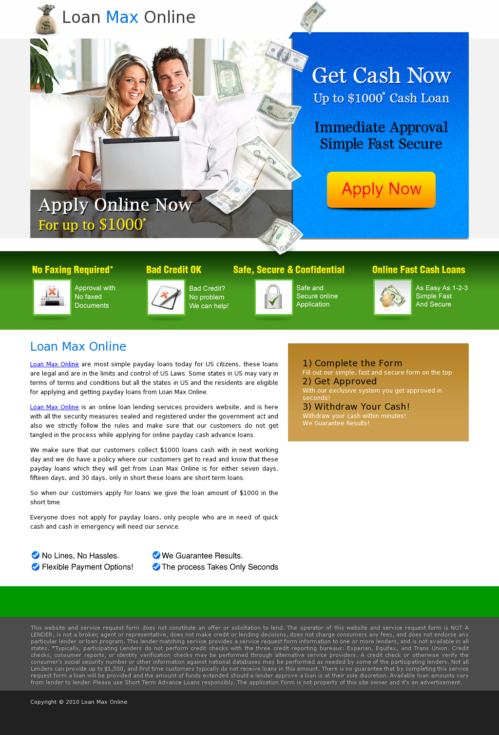 24 hour online payday loans photo 2