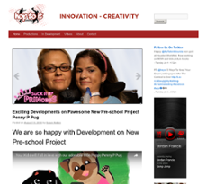 Hop To It Productions website history