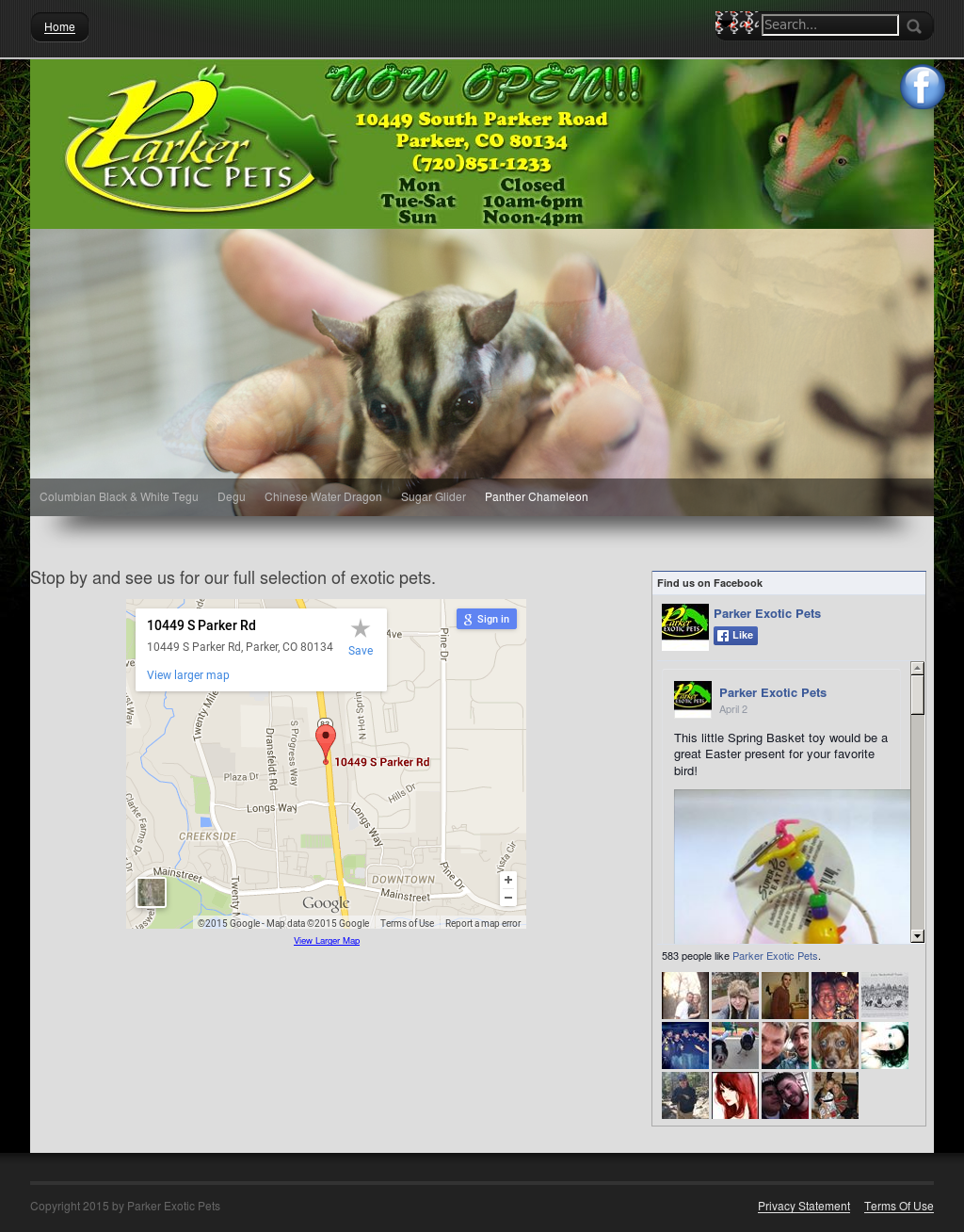 Parker Exotic Pets Competitors, Revenue and Employees