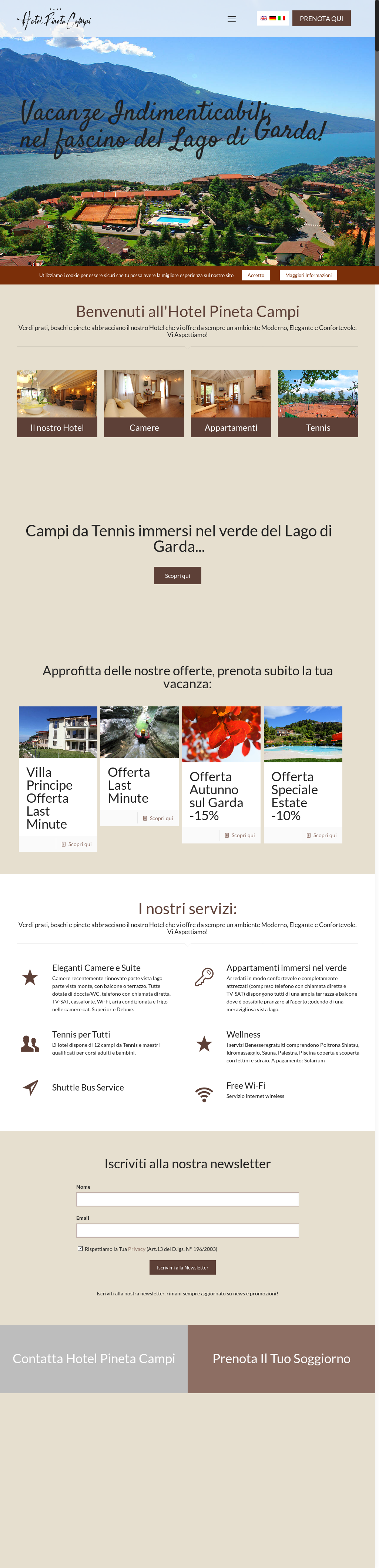 Hotel Pineta Campi Competitors Revenue And Employees