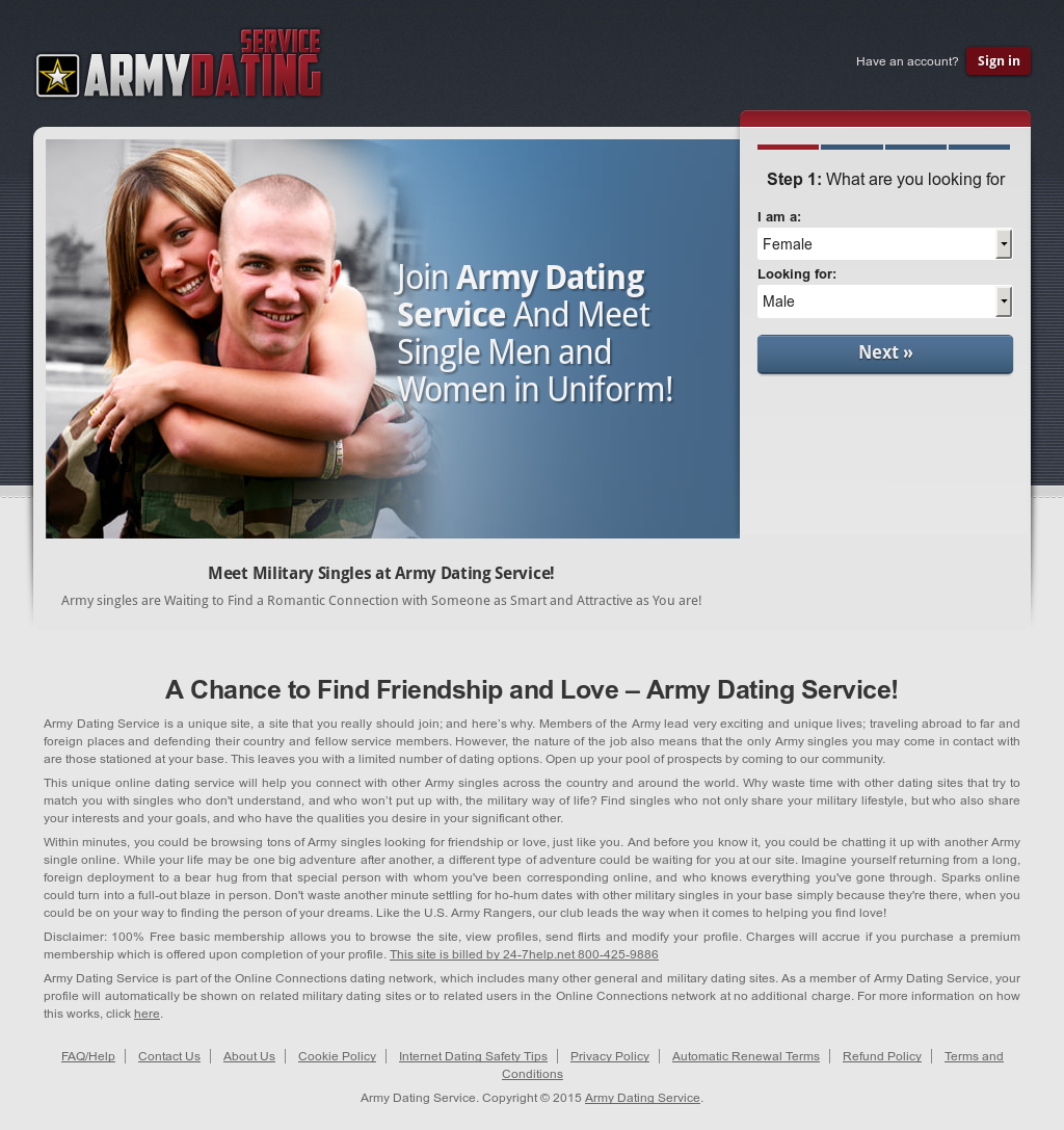 single soldiers dating site