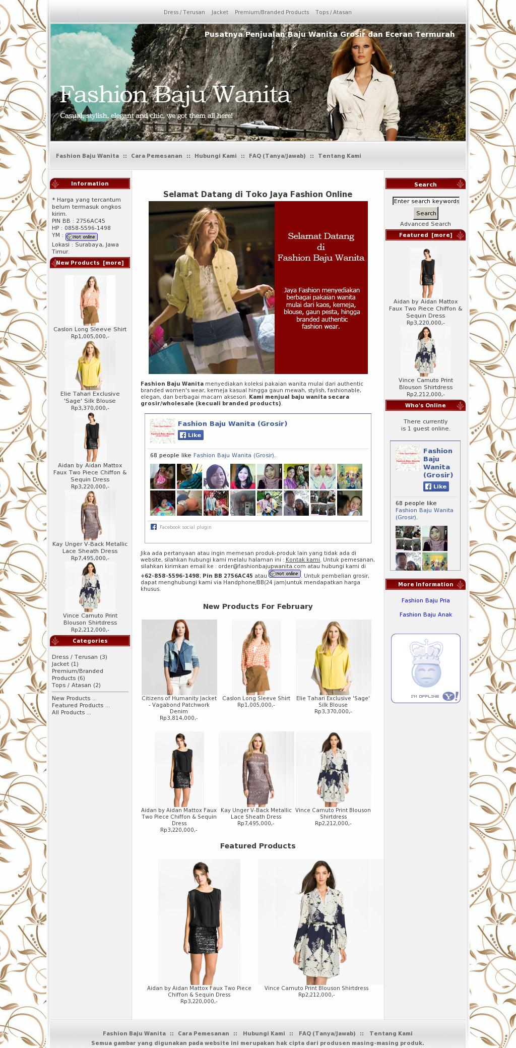 Fashion Baju Wanita Grosir Competitors Revenue And Employees Atasan Hp Owler Company Profile