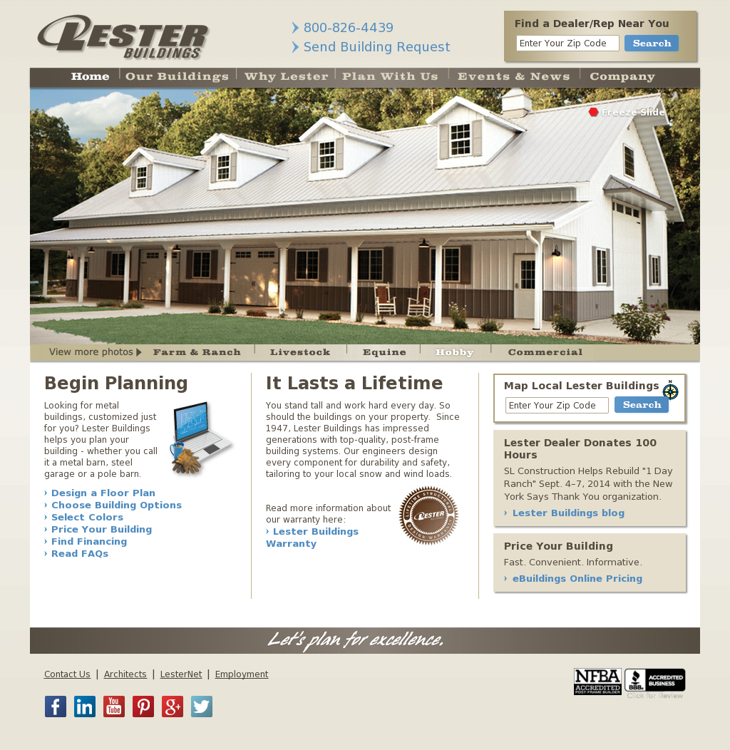 Lester Building Competitors, Revenue and Employees - Owler