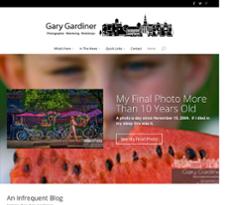 Gary Gardiner website history
