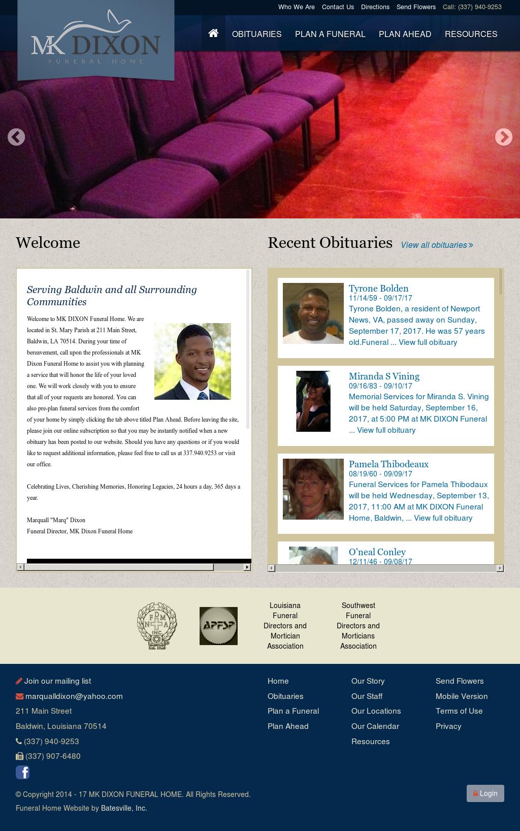 Funeral Home Website Design | Home Decor U0026 Renovation Ideas