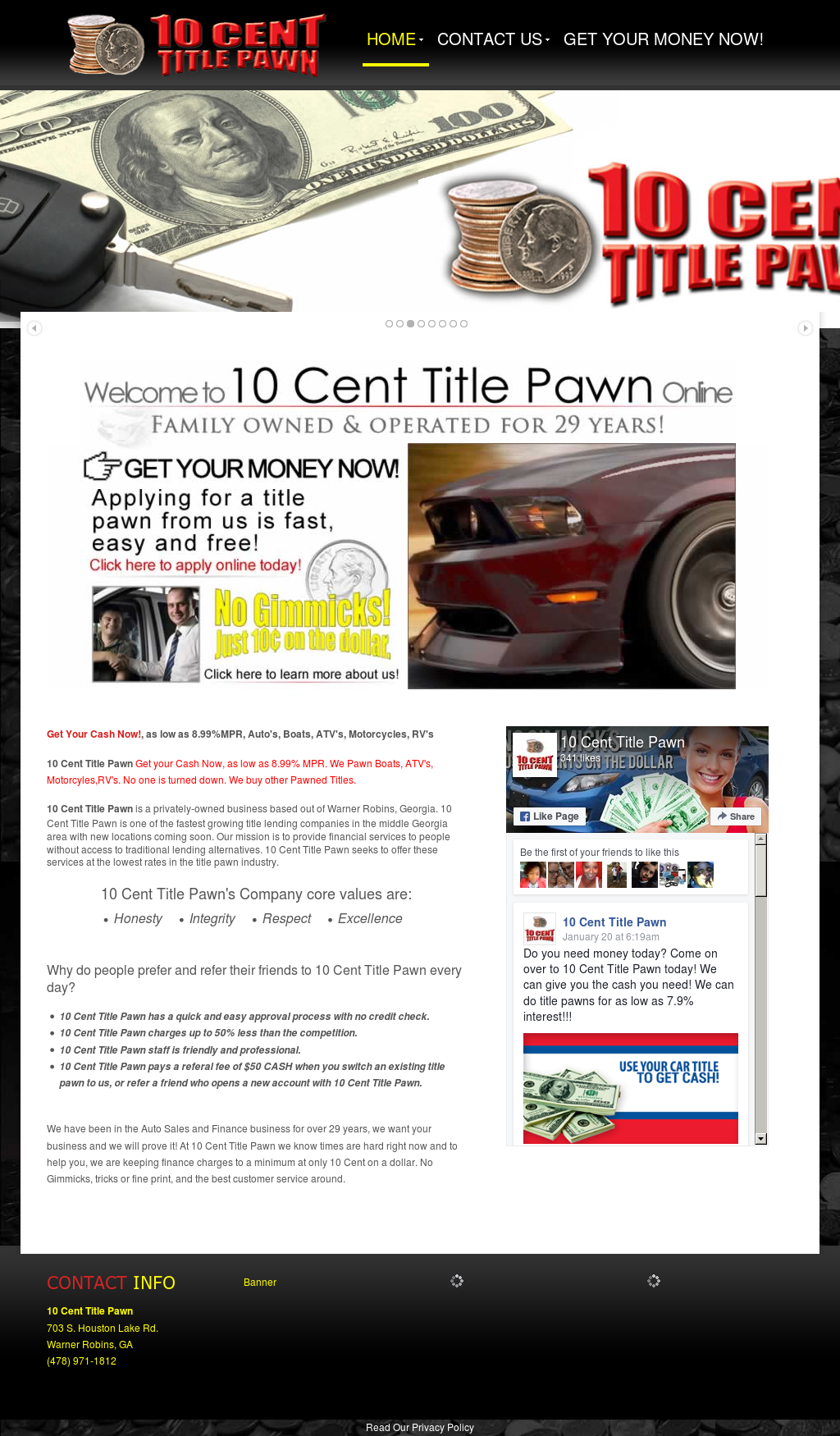 10Centtitlepawn Competitors, Revenue and Employees - Owler