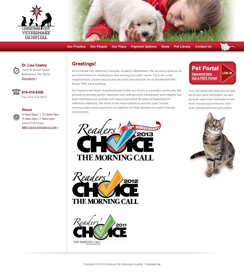 Christmas City Vet.Christmas City Veterinary Hospital Competitors Revenue And