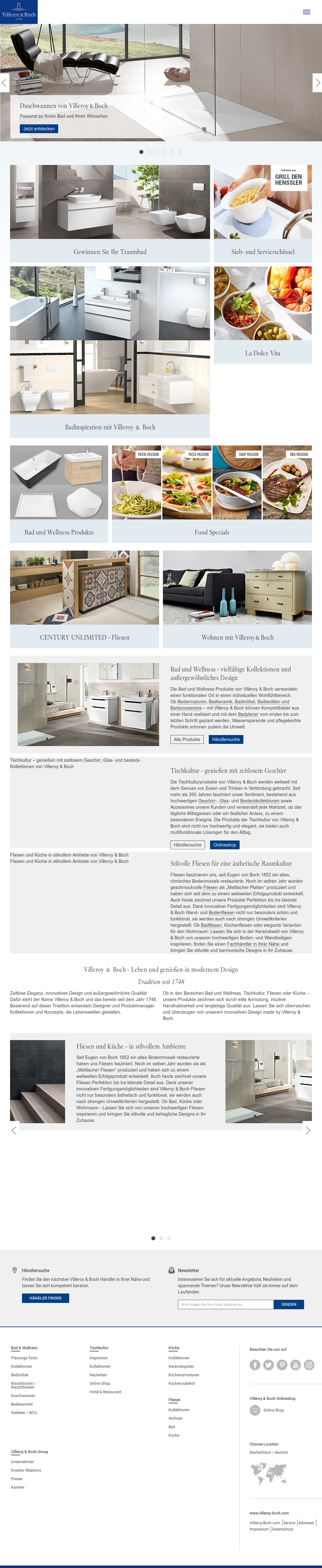 Villeroy & Boch Competitors, Revenue and Employees - Owler Company ...