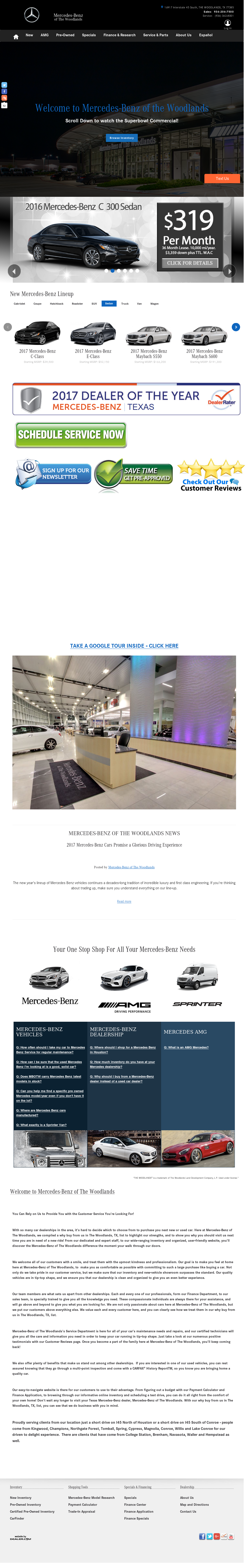 Mercedes-benz Of The Woodlands Competitors, Revenue and Employees