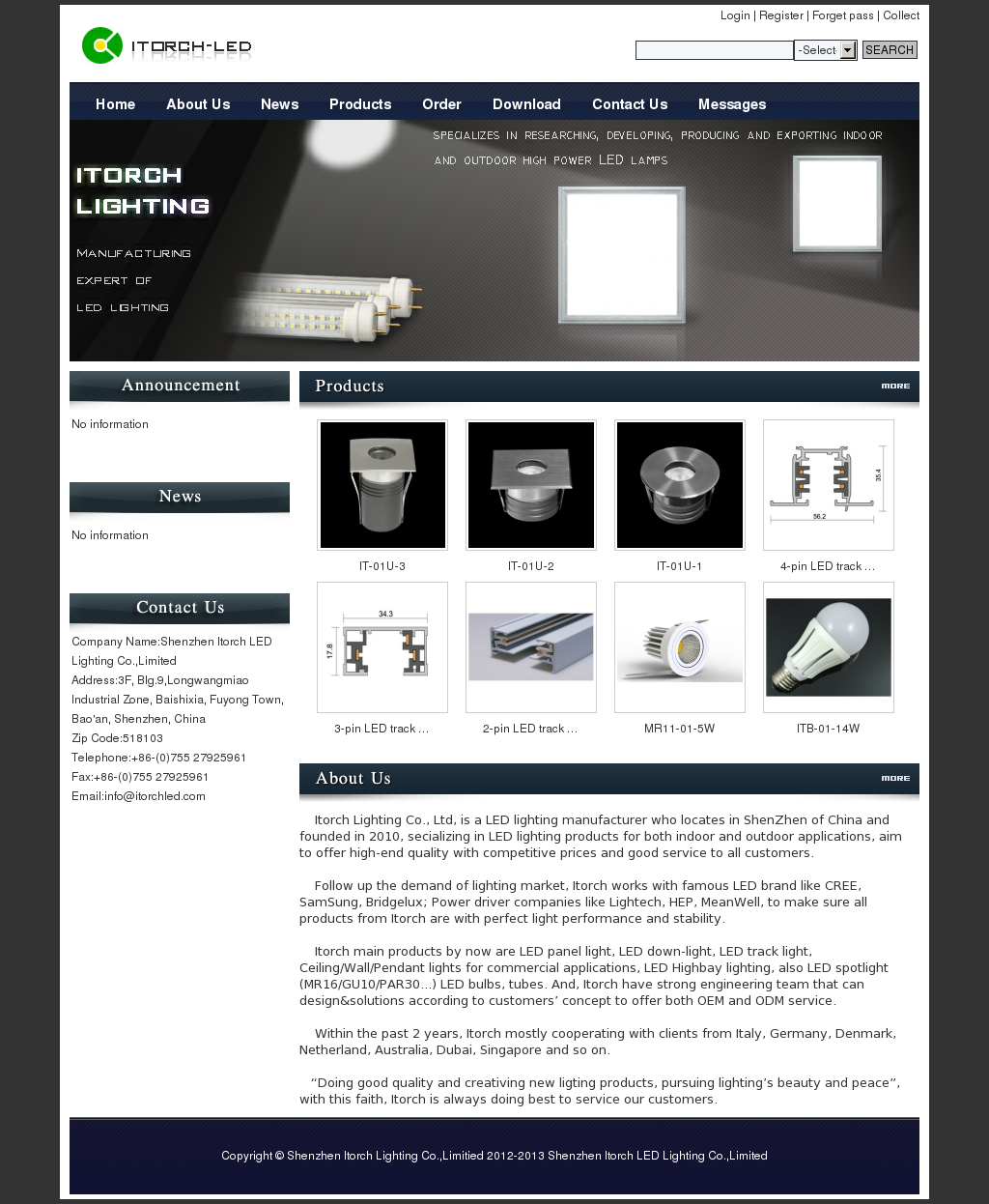 Shenzhen Itorch Led Lighting Co ,Limited Competitors